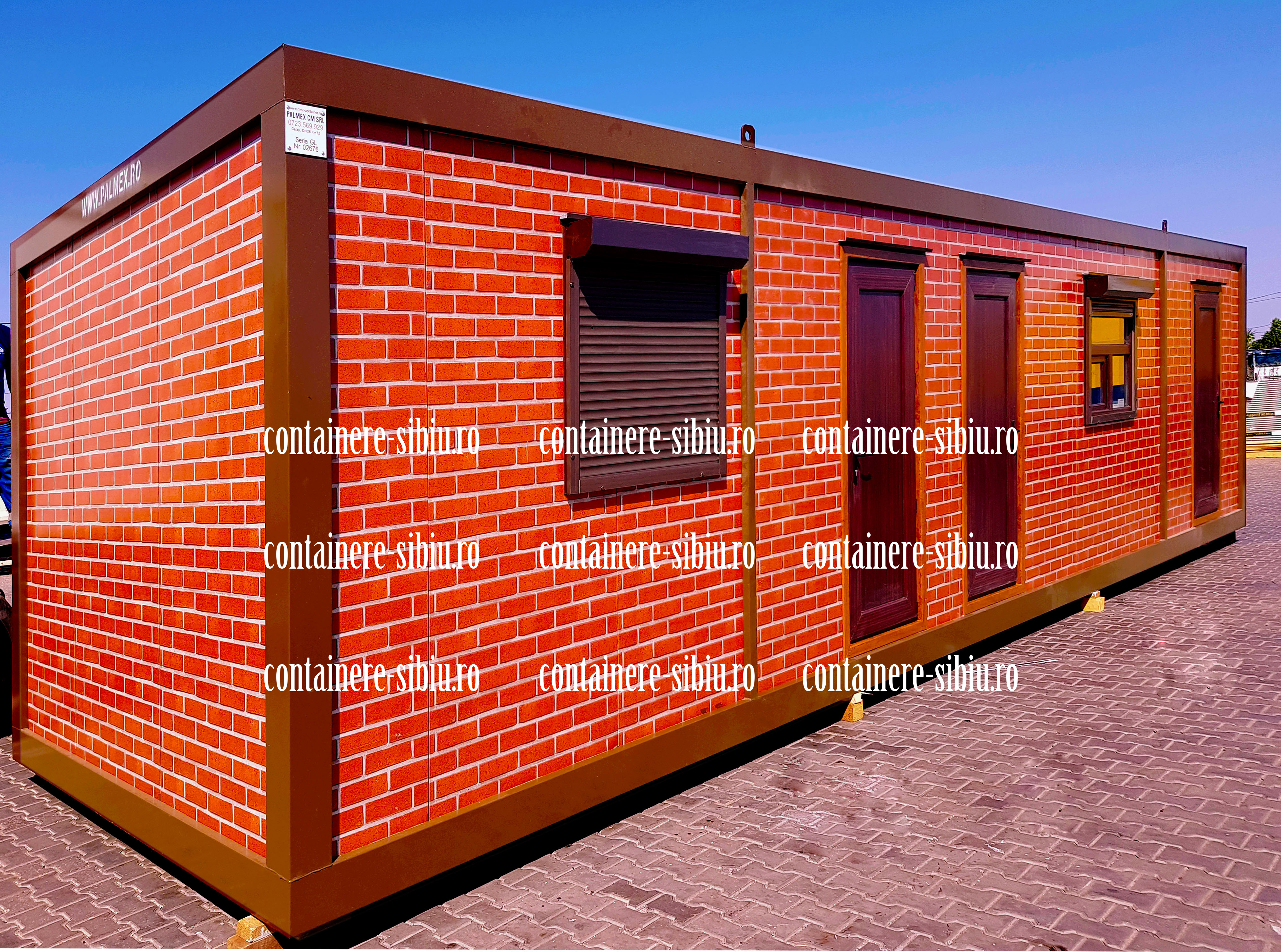 container modular second hand Sibiu