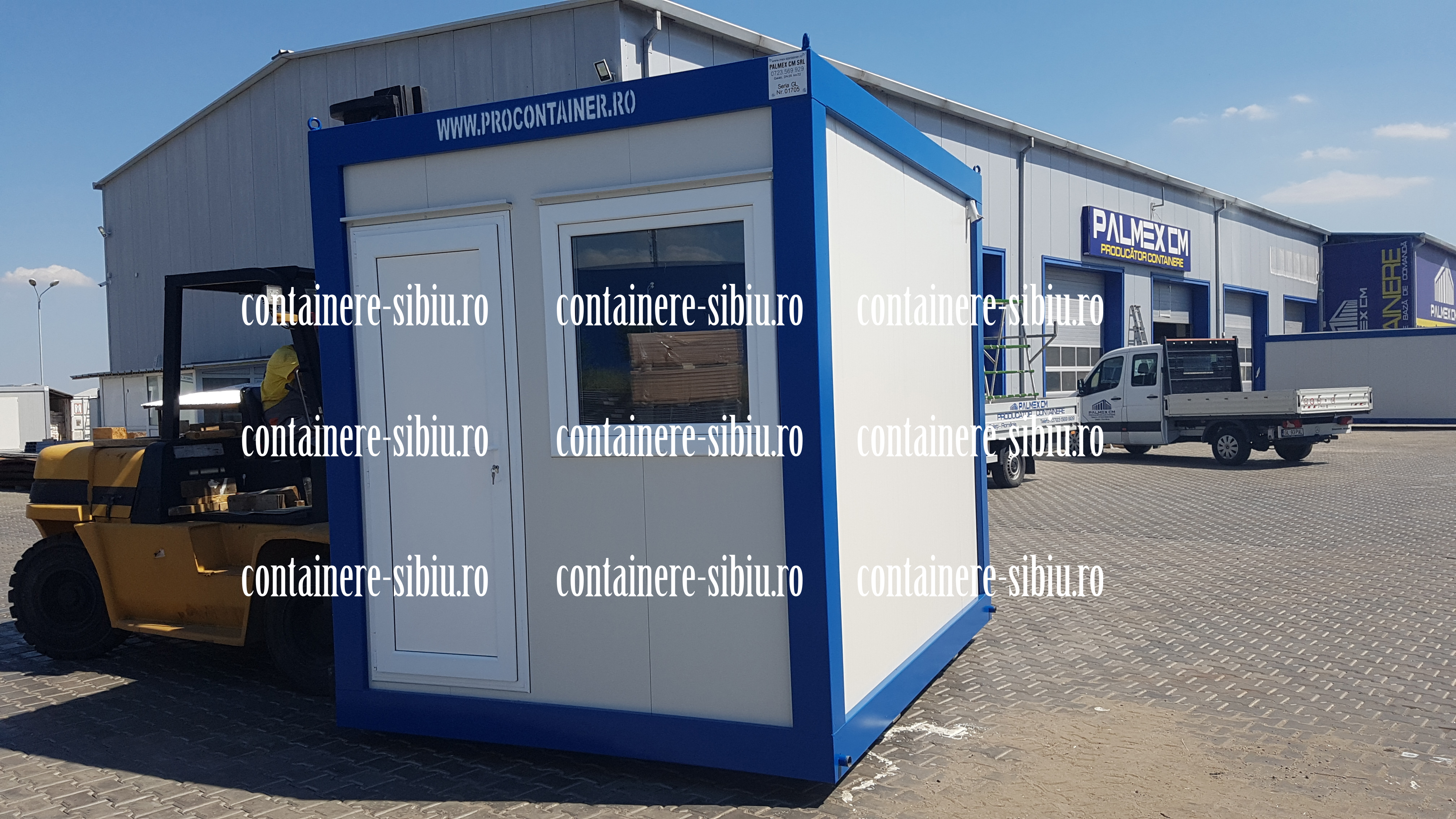 tip container Sibiu